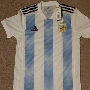Argentina soccer jersey size S